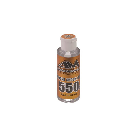 Arrowmax Silicone Shock Fluid 59ml 550cst AM-212010