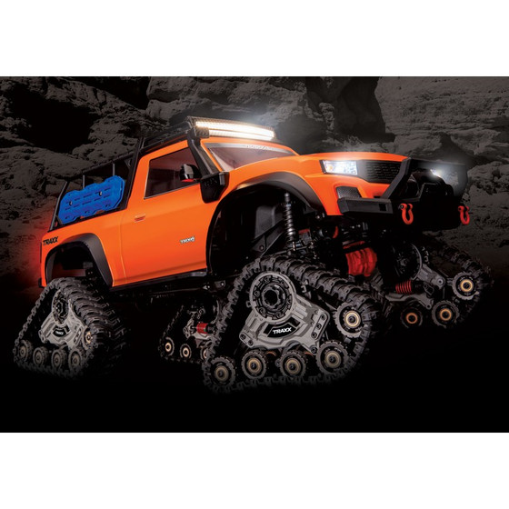 Traxxas 82034-4ORNG-T TRX-4 mit All-TerrainTraxx orange RTR o. Akku/Lader
