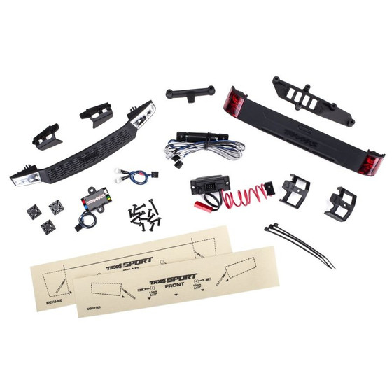 Traxxas 8085 LED Licht-Kit kpl. mit Powersupply (Headlights, Tail light &