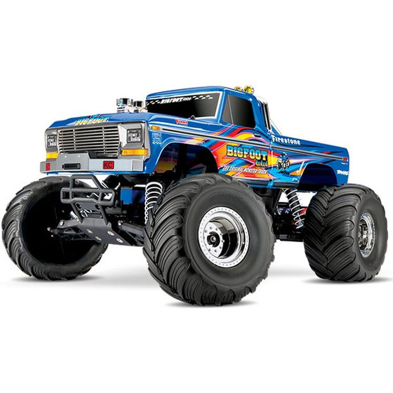 Traxxas 36034-1BLUEX BIGFOOT No1 BLUEX  RTR +12V-Lader+Akku