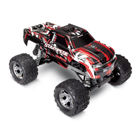 Traxxas 36054-1REDX Stampede rot-X RTR +12V-Lader+Akku